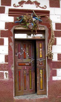 Door in Ecuador ♥ Stunning, classic jewelry: etsy.com/shop/BlueDivaDesigns #bluedivagal