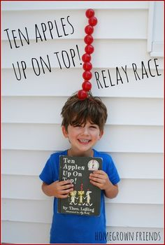 Ten Apples Up on Top Relay Race from Homegrown Friends