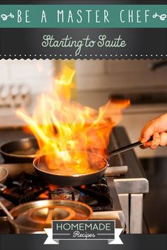 Be A Master Chef: Starting to Saute by Homemade Recipes at http://homemaderecipes.com/cooking-101/how-to-be-a-master-chef-in-10-days-start-to-saute/