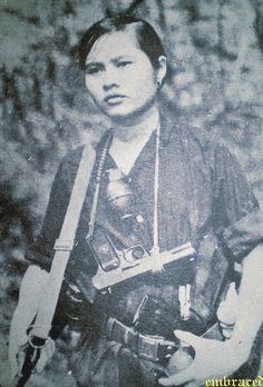 FLN female soldier unknown date (during the Vietnam war)