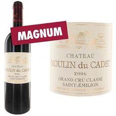 Magnum château moulin du cadet saint emilion grand cru classé 2006 – vin rouge