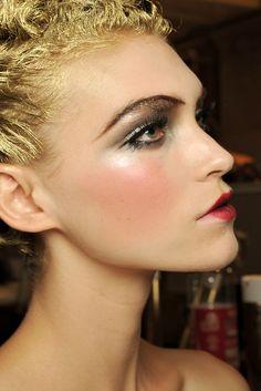 John Galliano 2011 - Makeup by Pat Mcgrath Makeup Geek, Beauty Makeup, Hair Makeup, Hair Beauty, Makeup Inspo, Beauty Stuff, Beauty Tips, Ballet Makeup, Pat Mcgrath Makeup