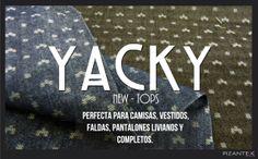 New Tops. Ref. Yacky Jacquard