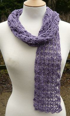precious crochet scarf (free pattern from ravelry)