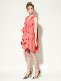 Taffeta Cape Back Dress by Thakoon on Gilt