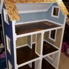"Ana White | Three Story American Girl or 18"" Dollhouse - DIY Projects"