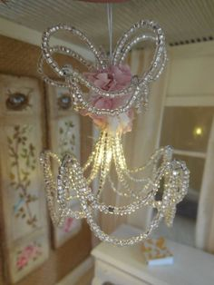 Miniature Dollhouse Battery Operated Crystal by cinderellamoments, $75 ...