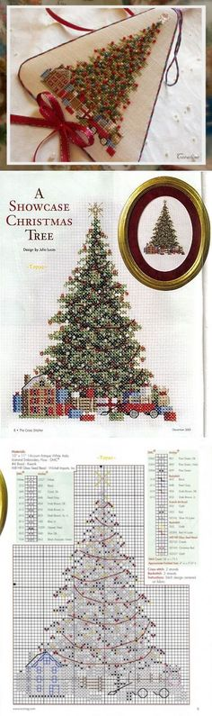 38 Ideas for embroidery designs cross stitch christmas ornament Cross Stitch Christmas Ornaments, Xmas Cross Stitch, Christmas Tree Pattern, Noel Christmas, Cross Stitch Charts, Cross Stitch Designs, Cross Stitching, Cross Stitch Patterns, Christmas Cross Stitches