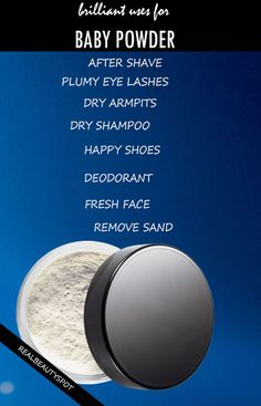 BRILLIANT USES FOR BABY POWDER IN SUMMER
