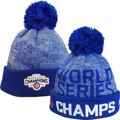 Chicago Cubs 2016 World Series Champions Knit  ChicagoCubs  Cubs  FlyTheW   MLB   9b42e659d036
