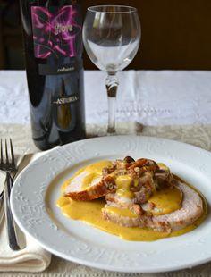 creamy pork loin - arista di maiale cremosa
