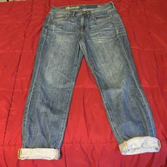 Madewell Boyjean Amazing jeans, need a good home. Great condition, just don't fit anymore. Madewell Jeans Boyfriend
