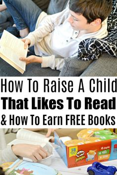 How To Raise A Child Who Likes To Read - I knew when I had kids that I would want them to enjoy reading just as much I did, so I made sure to start early! Free Books, Parenting Hacks, Book Lovers, Raising, Cravings, Back To School, Ads, Stylish, Children