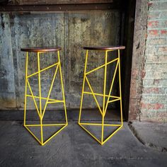 stools with wire legs