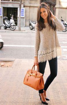Mulheres saltar manga comprida blusa de renda camisola solta Tops sueter novo em Blusas de Roupas e Acessórios no AliExpress.com | Alibaba Group