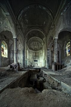 Abandoned church!