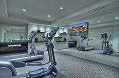 ⚜ Espacio recreativo en casa / Entertainment space in home... Home Gym Design Ideas