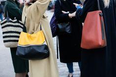 streetstyle celine paris fashion week #sandra semburg