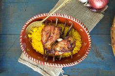 Alquimia dos Tachos: Cordeiro com arroz de forno à Marco de Canaveses