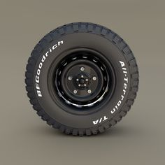 Offroad BF Goodrich Wheel by dragosburian A very accurate model ofan Offroad BF . Minivan Camper Conversion, Car Camper, Off Road Camper, Wheels And Tires, Car Wheels, Vw Bus, Offroad, Volkswagen Transporter T4, Ducato Camper