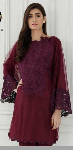 Abaya Designs, Blouse Designs, Girl Fashion, Fashion Outfits, Fashion Design, Long Tunics, Chiffon Shirt, Indian Designer Wear, Latest Dress