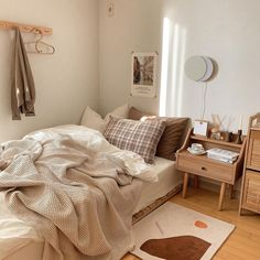 Room Design Bedroom, Small Room Bedroom, Room Ideas Bedroom, Bedroom Decor, Korean Bedroom Ideas, Bedroom Ideas For Small Rooms Cozy, Master Bedrooms, Bedroom Inspo, Modern Bedroom