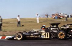 E.Fittipaldi - J.P.S. Lotus 72d Cosworth - Argentine G.P. - Buenos Aires - 1972