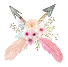 Baby Tattoos, Baby Angel Tattoo, Cute Wallpaper Backgrounds, Cute Wallpapers, Dreamcatcher Wallpaper, Arrow Feather, Apple Watch Wallpaper, Watercolor Paintings, Watercolor Drawing