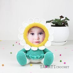 This is a crochet pattern (PDF file) NOT a finished Photo Frame you see on the photos! This pattern is available in: English (US crochet terms) Russian SKILL LEVEL: EASY Photo Frame CHAMOMILE – size 22 cm (9 in), if using sport weight yarn (Sport (12 wpi), 2 : Fine). Material: • yarn