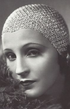 Brigitte Helm in the silent movie 'Metropolis' 1927.