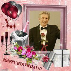Kimi template created by likeshadow. Birthday Photo Frame, Happy Birthday Frame, Birthday Cake With Photo, Birthday Frames, Happy Birthday Wishes Cake, Happy Birthday Cake Images, Happy Birthday Greetings, Foto Frame, Photo Frame Design