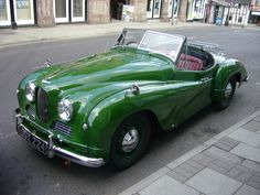Jowett Jupiter - My dad has one of these! plus 2 Jowett Javelins Vintage Sports Cars, Vintage Cars, Antique Cars, Cute Cars, Vintage Bicycles, Old Cars, Concept Cars, Cars And Motorcycles, Classic Cars