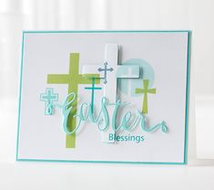 Card created by Shari Carroll using brand NEW Simon Says Stamp from the Hop To It Release