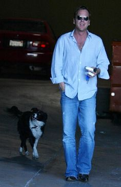 Gotta love a guy who loves his dog