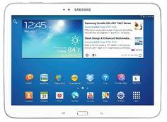 """Samsung Galaxy TAB 3 10.1 GT- P5200 - Tablet 10.1"""" (WiFi+3G+Bluetooth 4.0, 16 GB, Dual Core, Android JB), color blanco (Importado de Francia) B00DB1NRQ4 - http://www.comprartabletas.es/samsung-galaxy-tab-3-10-1-gt-p5200-tablet-10-1-wifi3gbluetooth-4-0-16-gb-dual-core-android-jb-color-blanco-importado-de-francia-b00db1nrq4.html"""