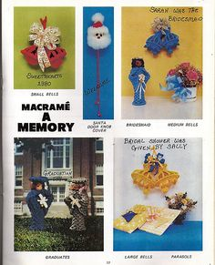 Macrame A Memory  Macrame Pattern Book Pat by grammysyarngarden