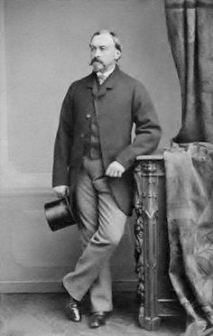 His HIghness Ernest II, Duke of Saxe-Coburg and Gotha (1818–1893). The Duke was Prince Albert, the Prince Consort's brother.