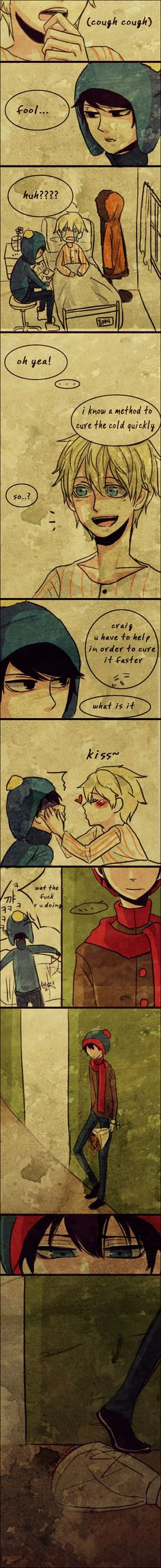 South Park: amor triángulo sujk0823~~~ Don't really ship either of these. But the feels still got to me.