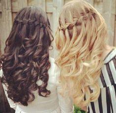 Every Brunette needs a blonde best friend.