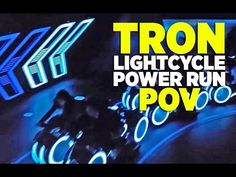 This Tron Lightcycle Roller Coaster Is Brilliant- Take a ride on the grid 5/9/16 PopMechanics