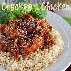 Honey Sesame Crock Pot Chicken by Kitchen_Meets_Girl