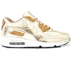 Nike Air Max 90 Womens Gold