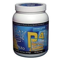 Organic Vegan Pumpkin Seed Protein Powder with 11 Vital Nutrients Makes Ideal Shake Raw Power Superfood 10 Servings  Coconut Almond Flavor -- Visit the image link more details.