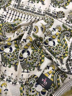 Printed Kalamkari cotton saree with printed blouse PC with rich pallu Kalamkari Saree, Cotton Saree, Printed Blouse, Indian Outfits, Alexander Mcqueen Scarf, Sarees, Boutique, Prints, Photography