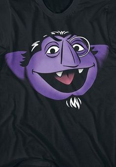 Sesame Street The Count Graphic Tee