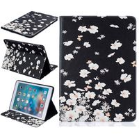 "Fashion High Quality 10 Colorful Painting Wallet PU Leather Case for Apple iPad Pro 9.7"" inch Stand Style Back Cover"