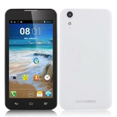 JIAKE C1000 MTK6572W Dual Core Android 4.2 5.0 Inch TFT Screen 3G Smartphone with GPS--$134.99