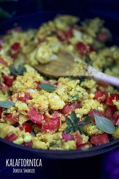 kalafiornica Clean Eating, Healthy Eating, Natural, Guacamole, Cauliflower, Food And Drink, Health Fitness, Vegetarian, Vegan
