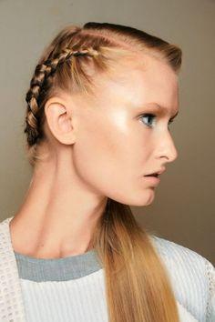 Catwalk Braids Hairstyles 2015 Spring Summer