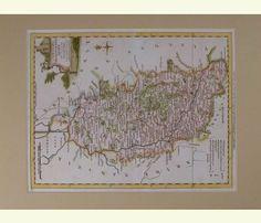 A Modern Map of  Nottinghamshire, 1766-77